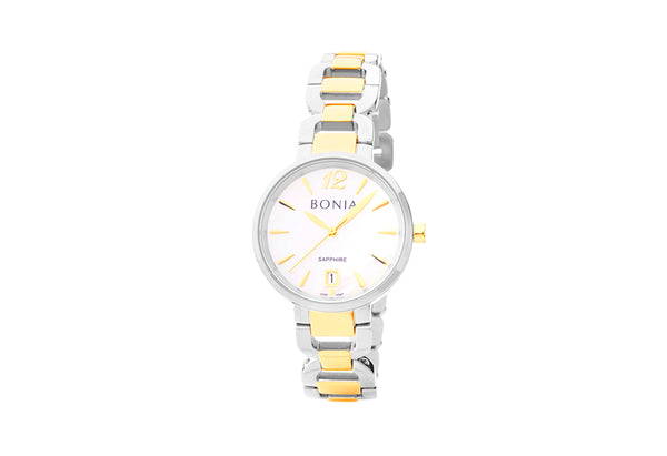Silver and Gold Alena Watch