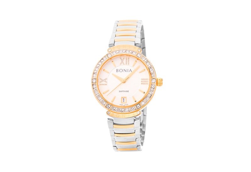 Silver and Rose Gold Penelope Watch