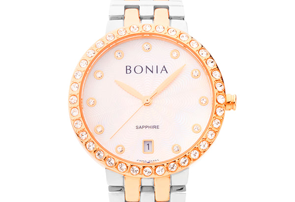 Silver and Rose Gold Cheryl Watch
