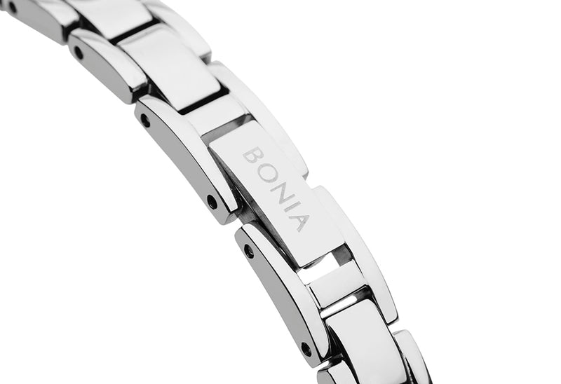 Silver and Gold Leona Watch