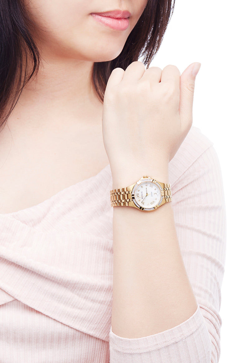 Gold Mia Watch