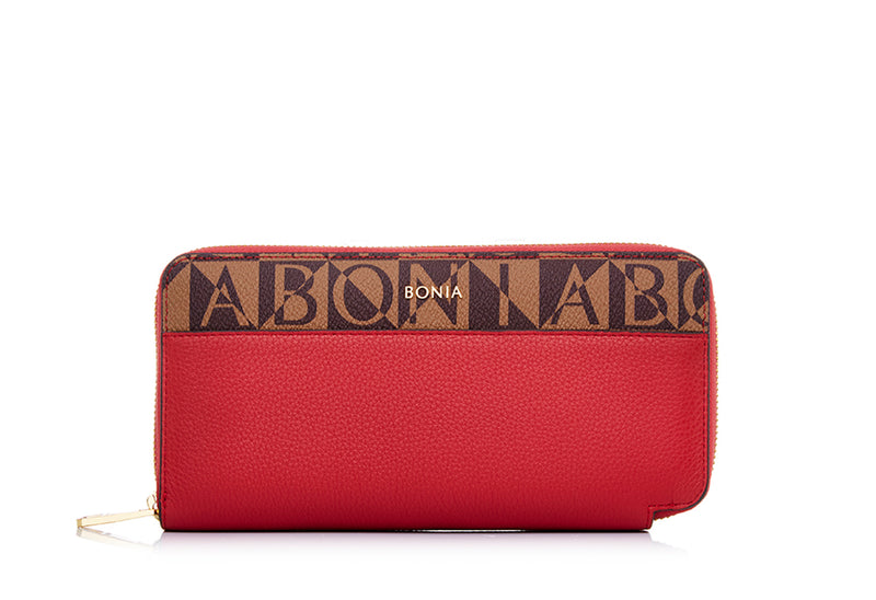 Monogram Zipper Wallet