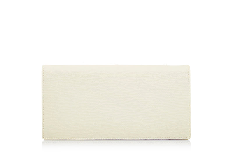 Adoro Slogan Long Two Fold Wallet