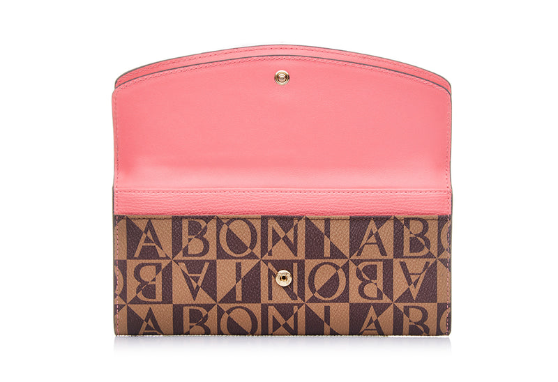 Monogram Long Two Fold Wallet