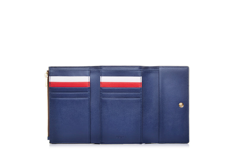 Monogram Short Three Fold Wallet