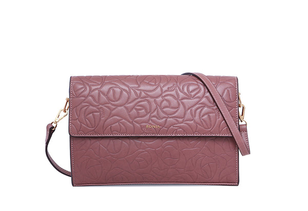 Regal Rose Clutch