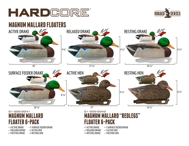 Rugged Series Mag Mallard - Redlegs