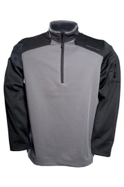 Mens-Tactical-Pullover-Dark-Grey