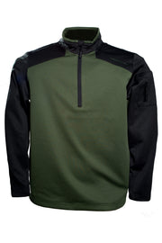 Mens-Tactical-Pullover-Green