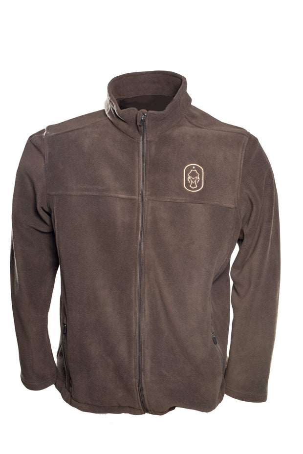 Mens-Traveler-Full-Zip-Fleece-Brown