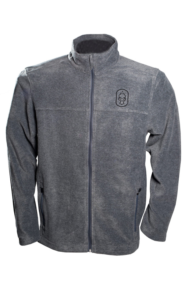 Mens-Traveler-Full-Zip-Fleece-Grey