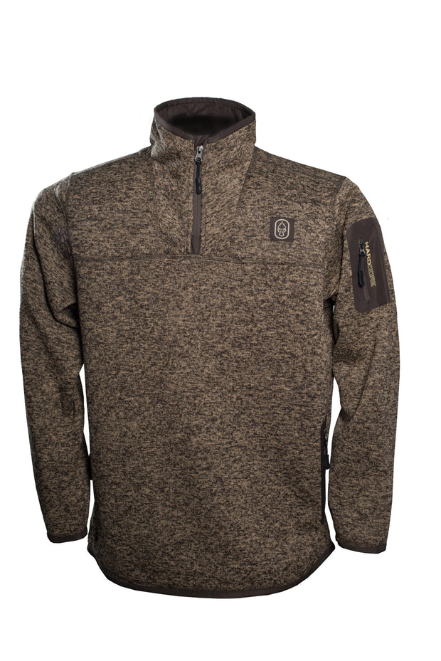 Mens-Wetlander-Pullover-Chocolate