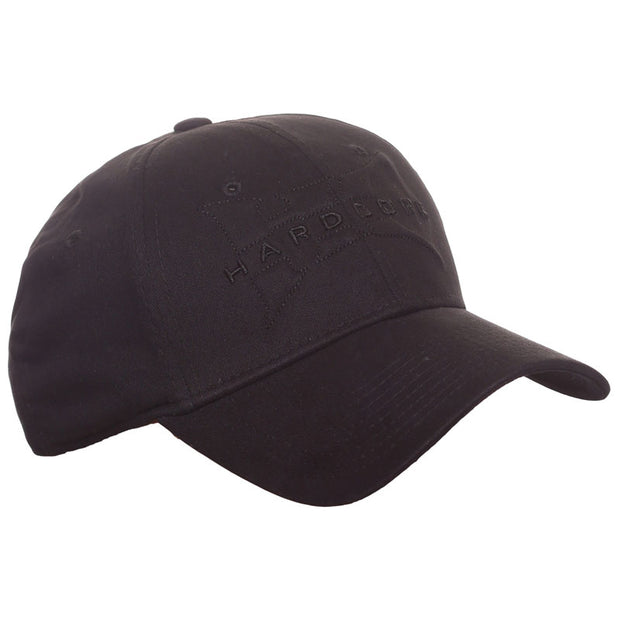black-hard-core-logo-hat