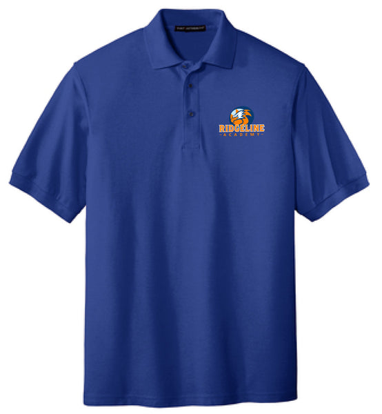 Adult Ridgeline - Silk touch Blend Polo (2 Color Options)