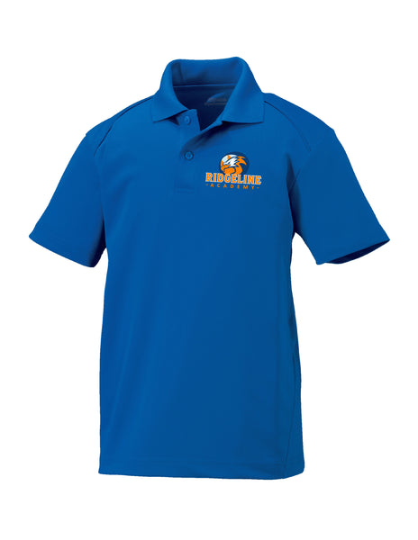 Youth Ridgeline - Embroider Royal Blue Polo Extreme Performance Drifit Polo