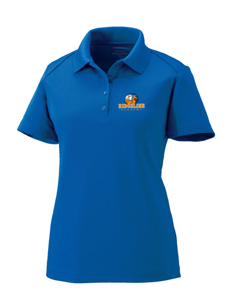 Ladies Ridgeline - Extreme Drifit  Royal Blue Polo