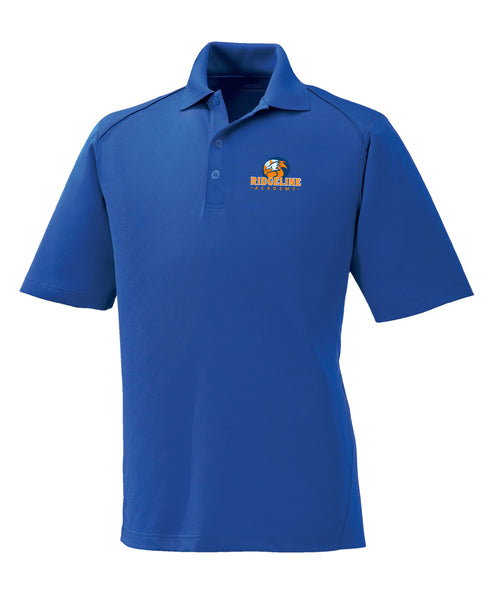 Adult Ridgeline - Embroider Royal Blue Polo Extreme Performance Drifit Polo