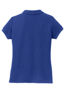 Girls Ridgeline - Silk Touch Royal Blue Polo Shirt