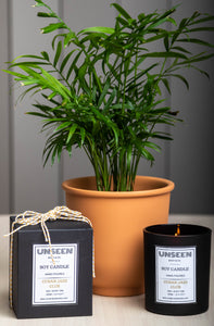 Cuban Jazz Club Soy Candle | 60hr Burn - UNSEEN Body and Co
