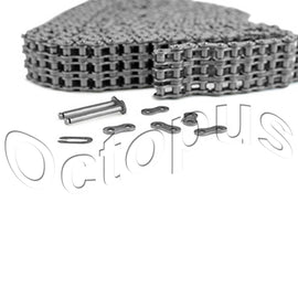 80-2 Roller Chain For Sprocket 10 Feet With 1 Connecting Link Drive Chain
