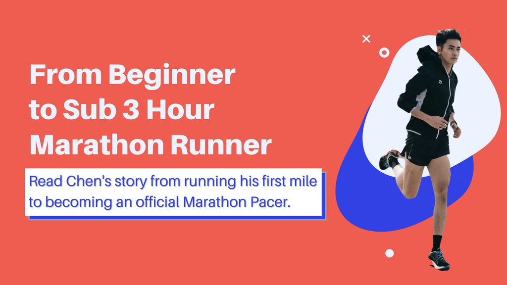from beginner runner to sub 3 hour marathon runner, a pacer's running story