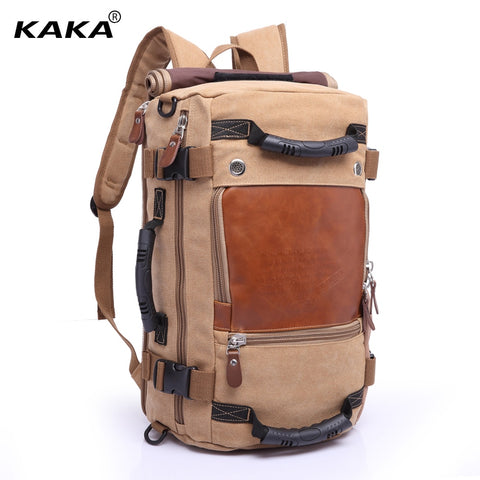 KAKA Vintage Stylish Travel Backpack