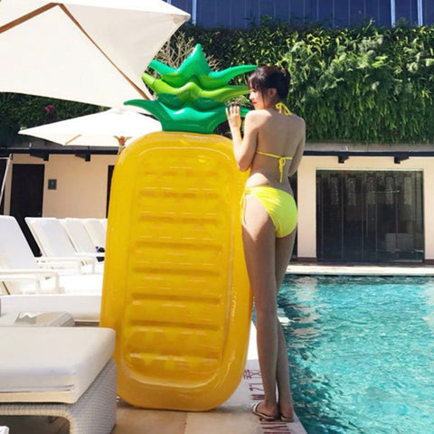 Pineapple Float Mattress Inflatable