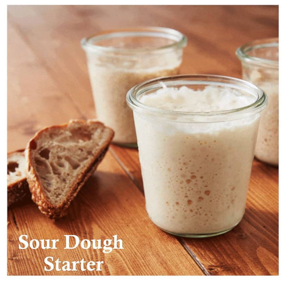 What is a sourdough starter and what are its benefits.