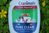 Cranimals Pure Clean 100% Natural Antibacterial Sanitizer and Cleaner
