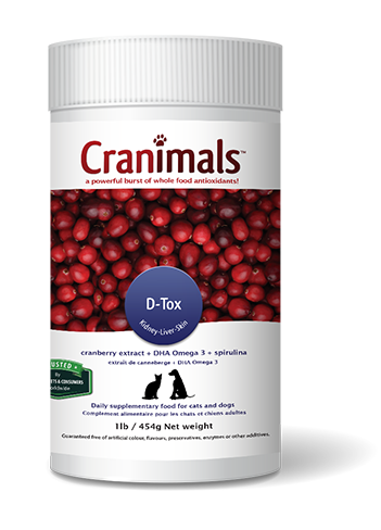 Cranimals D-tox Spirulina Pet Supplement 454 G/ 1 Lb Jar