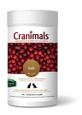 Cranimals Gold Puppy and Cat Supplement 454 G / 1 Lb Jar