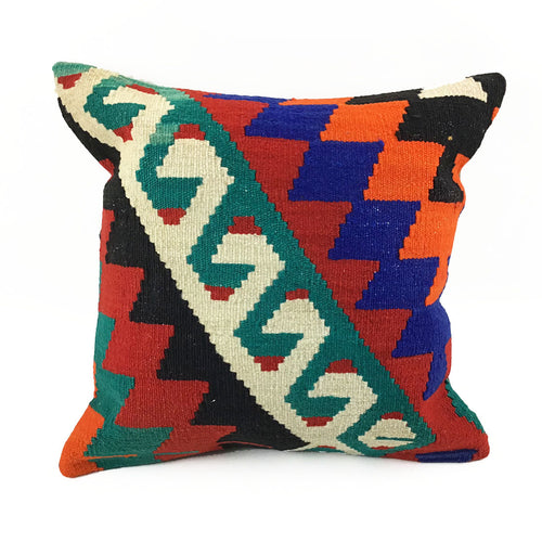 BIST: Vintage Kilim Pillow with Insert - #1