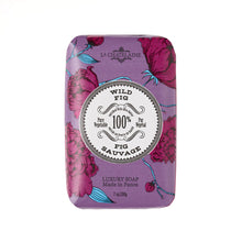 Load image into Gallery viewer, La Chatelaine Luxury Bar Soap - Wild Fig