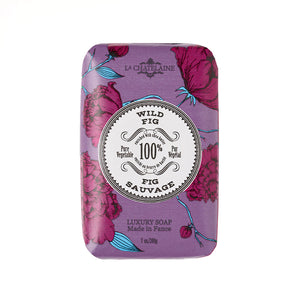 La Chatelaine Luxury Bar Soap - Wild Fig