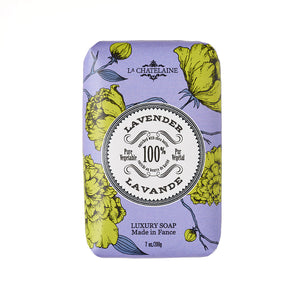 La Chatelaine Luxury Bar Soap - Lavender