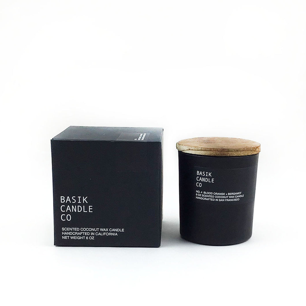 Basik Candle - Blood Orange & Bergamot