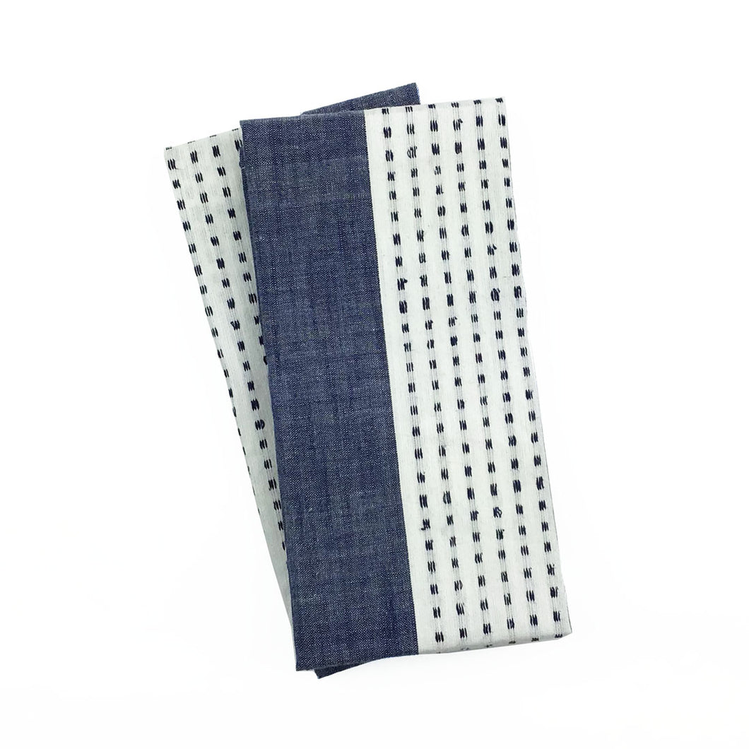 Indigo Dot Kitchen Towel - Set of 2