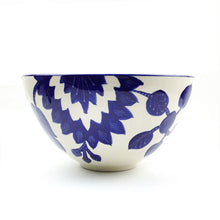 Load image into Gallery viewer, BIST: Blue and White Large Serving Bowl
