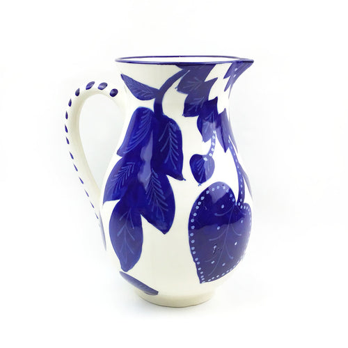 BIST: Blue and White Ceramic Pitcher
