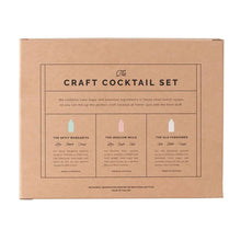 Load image into Gallery viewer, Craft Cocktail Syrup Set