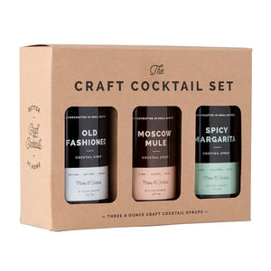 Craft Cocktail Syrup Set