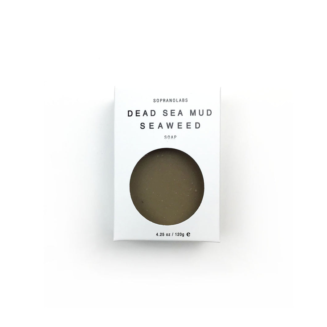 Dead Sea Mud Seaweed Soap