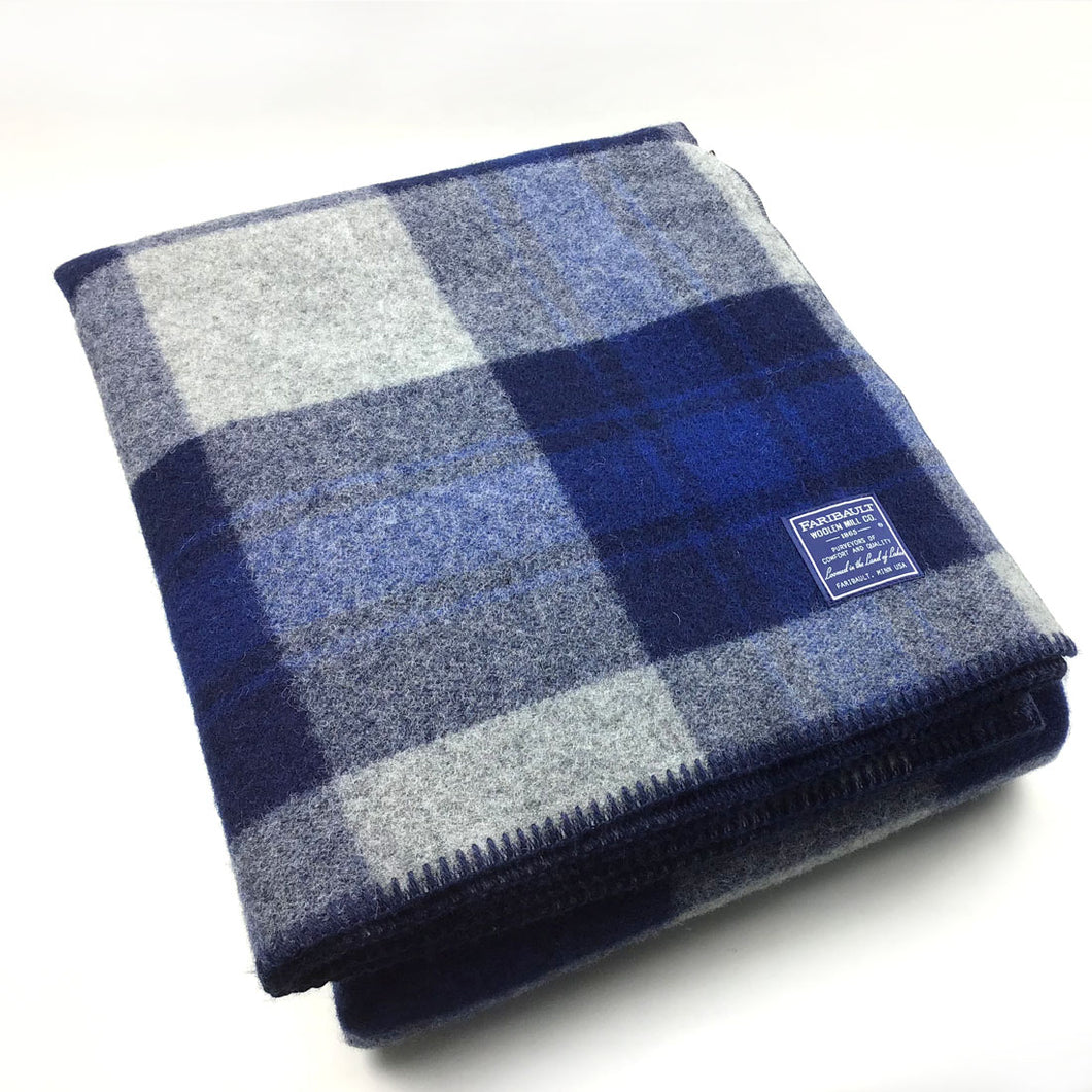Faribault Defender Plaid Blanket