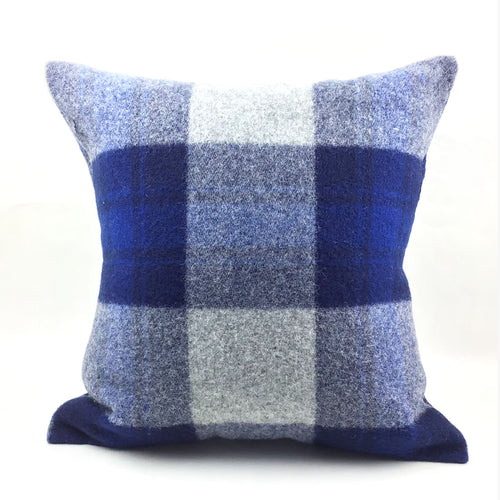 Faribault Defender Plaid Pillow with Insert