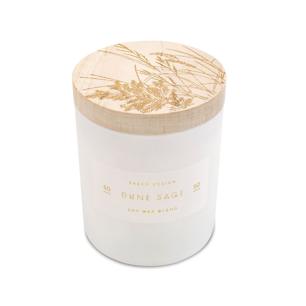 Soy Wax Candle - Dune & Sage