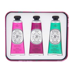 La Chatelaine Luxury Hand Cream Gift Set - Eggplant