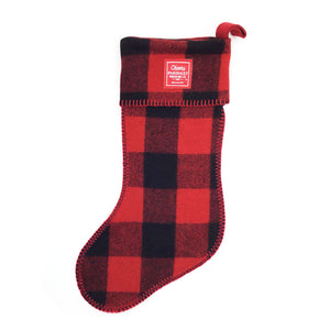 Faribault Christmas Stocking - Red / Green