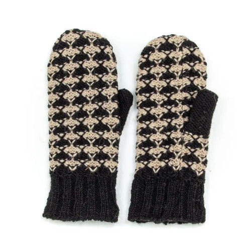 Fleece Lined Wool Mittens - more colors