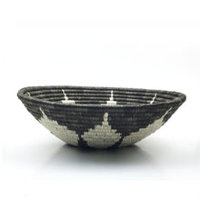 Load image into Gallery viewer, Gray Flower Bowl Basket