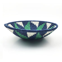 Load image into Gallery viewer, Green Blue Statement Bowl Basket